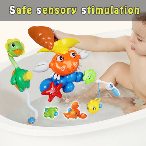 Bath Toys for Toddlers Kid/'s Animals Squirt Water Outdoor Indoor Bright Colorful