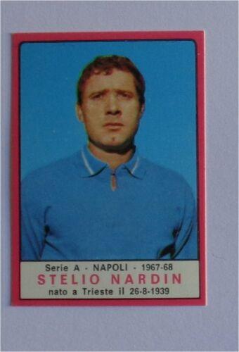 Calciatori Stikers panini 1967//68 Milan Napoli Allenatori Bustina