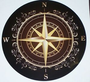 Compass rv motorhome wall window graphic decal decals mural graphics