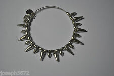 Alex and Ani Expandable Energy Bracelet Russian Silver Spike of Courage RETIRED
