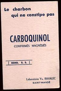 BUVARD CARBOQUINOL ( 40 ) YEAzxC1X-09160054-752841353