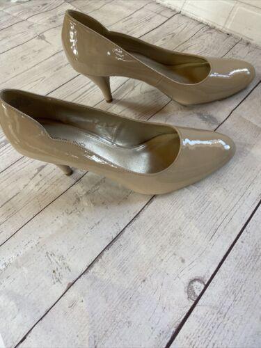 Bandolino Nude Beige Pumps - Camel Nude High Heels