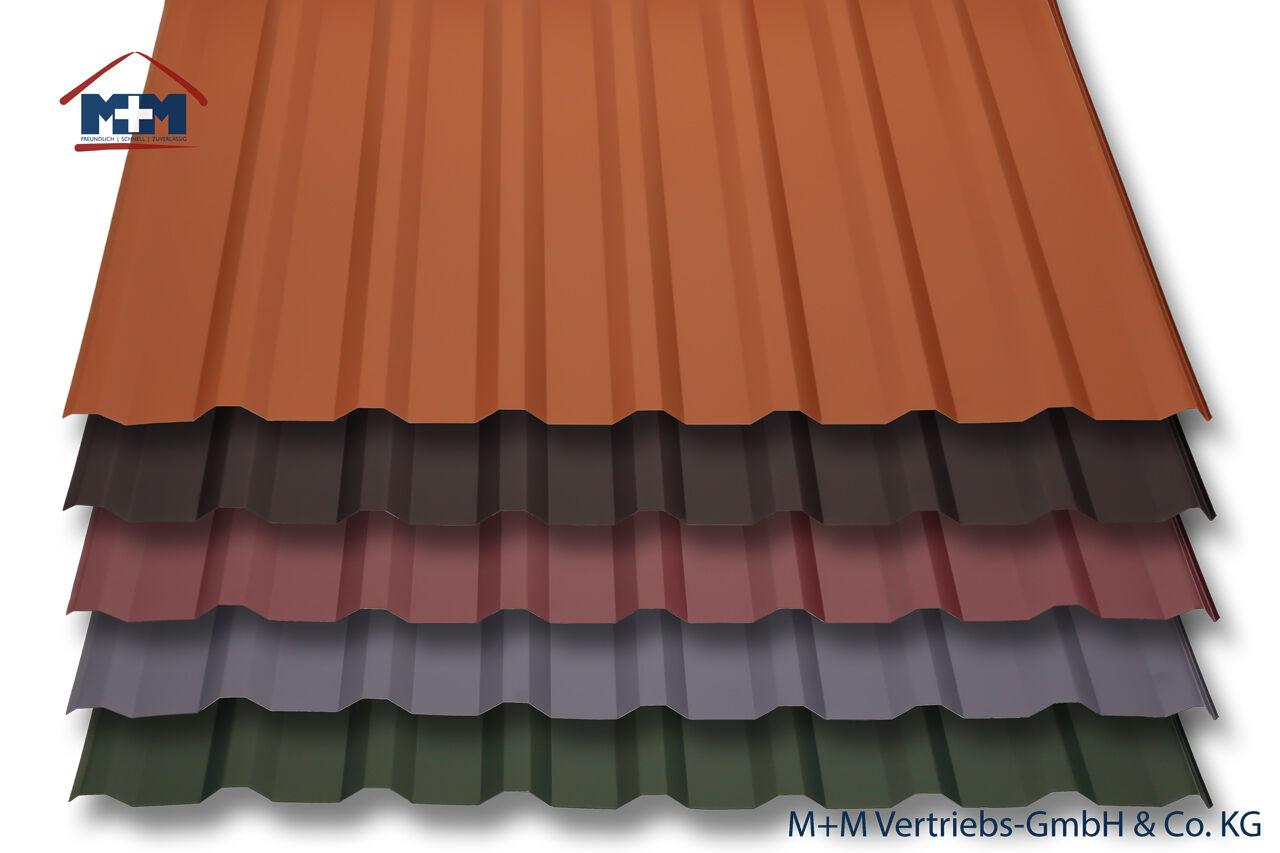 qm Trapezbleche Sonderposten Dachbleche Dachplatten Profilbleche