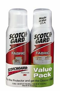 3m scotchgard fabric protector 10 ounce 2 pack new ebay. Black Bedroom Furniture Sets. Home Design Ideas
