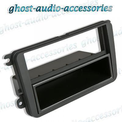 Fits BMW Single DIN Car CD Stereo Radio Facia Fascia Surround Adaptor Panel Plate