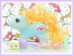 ❤️My Little Pony MLP Vtg G1 Style HQG1C Playful Newborn Baby ZIPPER Custom❤️