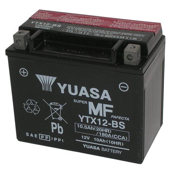 Batería Yuasa Original YTX12-BS Piaggio Beverly 125 2001/2003