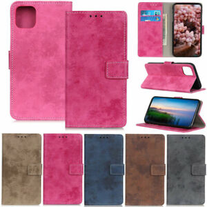 Retro-Wallet-Leather-Flip-Cover-Case-For-Samsung-A51-A31-A21s-A11-A01-S20-S10-S9