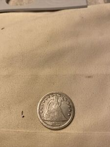 1877 S Silver Seated Liberty Quarter Dollar Nice Coin !!