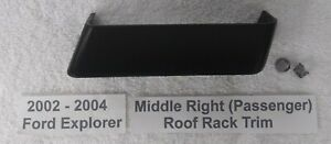 02 03 04 Ford Explorer—Right Front Roof Luggage Rack End Trim Cap