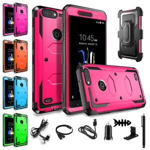 the best attitude f3e33 f969c Details about For ZTE Blade Z Max / ZTE Sequoia Z982 Case Hybrid Protective  Armor Rugged Cover