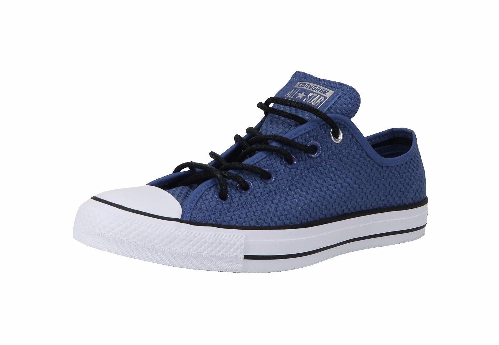 Converse shoes Men Women Unisex All Star Chuck Taylor Woven Road Trip bluee White