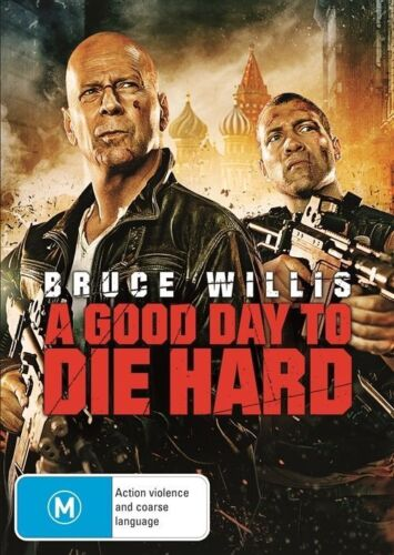 1 of 1 - A Good Day To Die Hard NEW & SEALED DVD Bruce Willis Jai Courtney Sebastian Koch