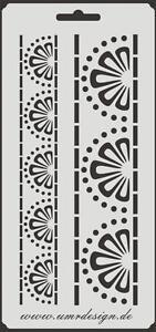 Scrapbooking galería de símbolos s-153 todo buenos ~ stencil ~ Conv-Design