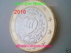 1 Euro 2010 San Marino San Marin Saint Marin Сан - Марино Vif Et Grand Dans Le Style