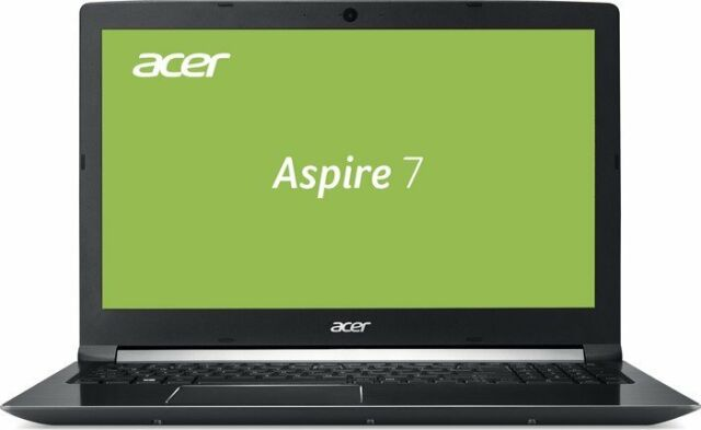 "15,6""/39,6cm Notebook Acer A715 Intel i7 4x3,8GHZ 8/256/1000GB GTX1050-3GB Win10"