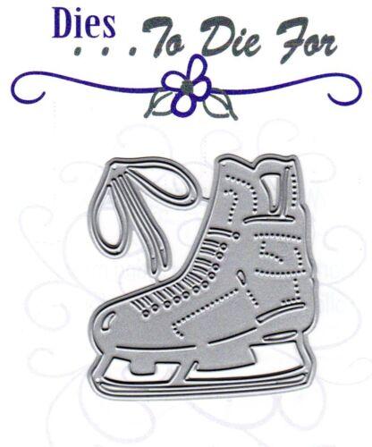 Ice Skate Dies...to die for metal cutting craft die Hockey Winter line