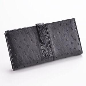 Damen Geldbörsen aus Straussenleder