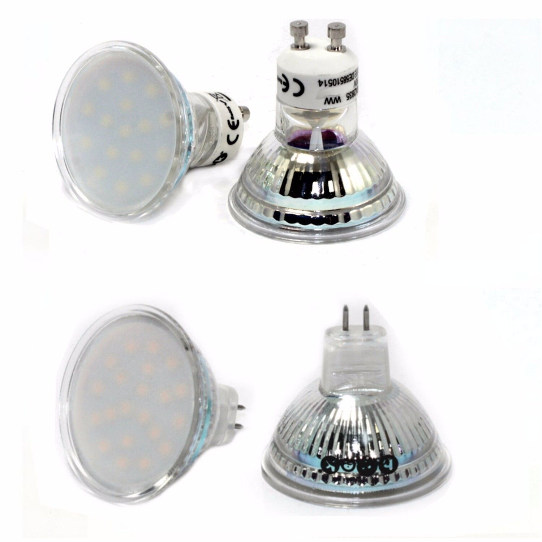 10x led gu10 gu5 3 mr16 lampe licht spot strahler smd s 3 watt 12v o 230v ebay. Black Bedroom Furniture Sets. Home Design Ideas