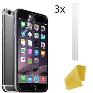 3-x-Clear-Plastic-Screen-Guard-LCD-Protector-Film-Layer-For-Apple-iPhone-8-Plus