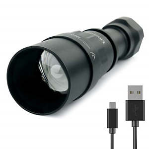 Rechargeable LED Hunting NV IR 850NM Torch, T38  Night Vision Infrared Night with  sale