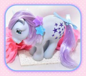 My-Little-Pony-MLP-G1-Vtg-1982-Italy-Italian-Blue-Belle-NIRVANA-Purple-Stars