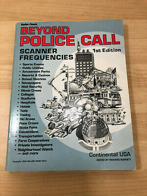 Radio Shack Beyond Police Call Scanner Frequencies 1st Edition 1994