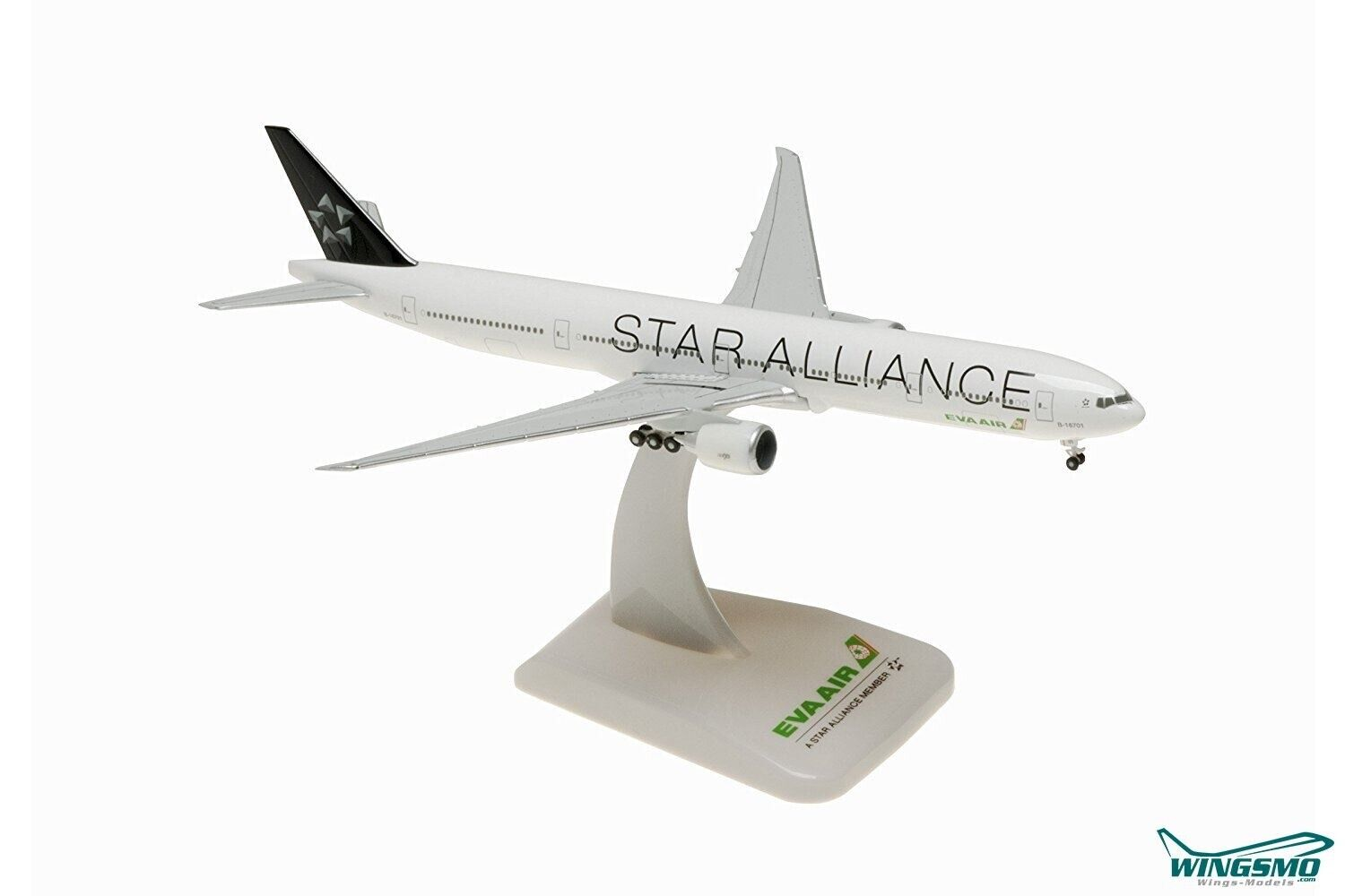Hogan Wings Boeing 777-300ER Eva Air  Star Alliance  Scale 1 500 LI5170