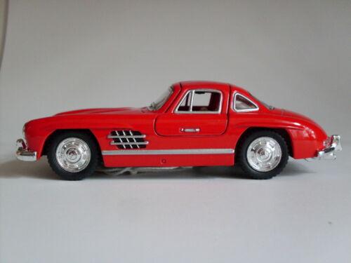 1954 Mercedes-Benz 300 SL Coupe Rosso 1:36 Auto Modello ca