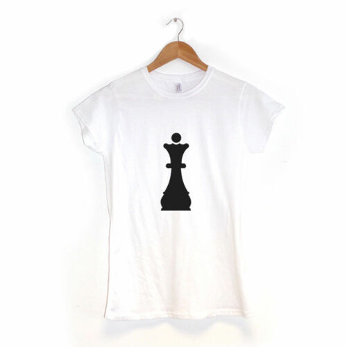 Regina Pedina Degli Scacchi|T-Shirt da DonnaVari ColoriHipster Vestiti