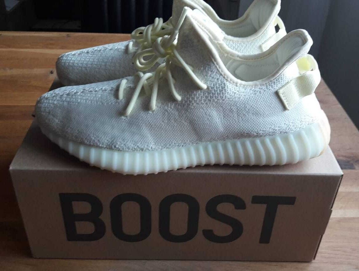 Adidas Yeezy Boost 350 v2 Butter - EU 45 1/3, US 11 - F36980 - ORIGINAL