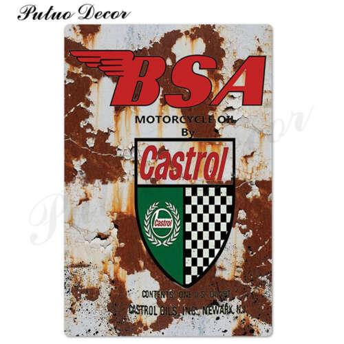 Bar Garage NEW Vintage Motor Oil metal plaque Retro tin sign for Gas Station