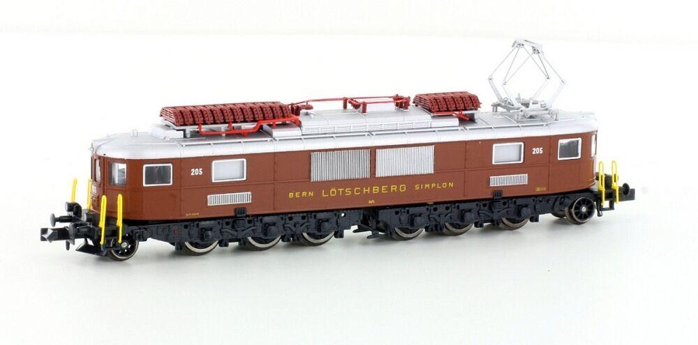 Hobbytrain 10180 BLS Ae 6 8 8-achsig E-Lok braun SBB 205 Digital Schnittst.-NEU