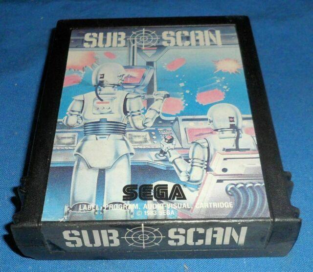 ATARI 2600 SUB SCAN game only SEGA s