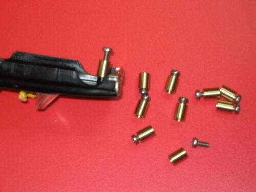 6,0 mm 1 Reparaturhülse gedrehte Messing Ausführung