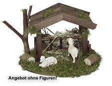 Unterstand für Schafe, Krippenstall, Krippenzubehör, Krippe Alfred Kolbe 294-8