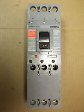ITE SIEMENS CFD CFD63B200 3 pole 200 amp 600v Circuit Breaker Flawed