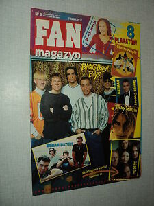 FAN-MAGAZYN-06-4-97-BSB-BACKSTREET-BOYS-RICKY-MARTIN-GEORGE-CLOONEY-B-PITT
