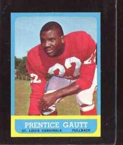1963 TOPPS #150 PRENTICE GAUTT EX NICELY CENTERED *C5700 ...