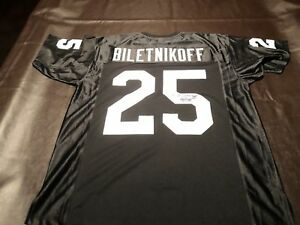 40a508c83 Image is loading Fred-Biletnikoff-authentic-signed-Oakland-Raiders-jersey- autograph-