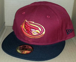 buy online efb41 ea832 Image is loading NWT-NEW-ERA-Iowa-State-CYCLONES-crimson-59FIFTY-