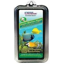 Cibo per pesci marini. Ocean nutrition, alga verde Disidratato.