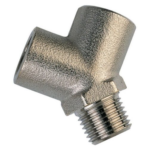 1//8/' BSP /'Y/' PIECE 9-01999 BRASS AIR LINE ADAPTORS