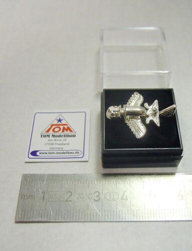 New Silver 02 Pin//Pin Paleo Seti // pre Astronautics Gold Plane No