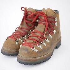 VINTAGE DEXTER Distressed Brown Suede Leather Hiking Trail Walking Boots MEN'S 6
