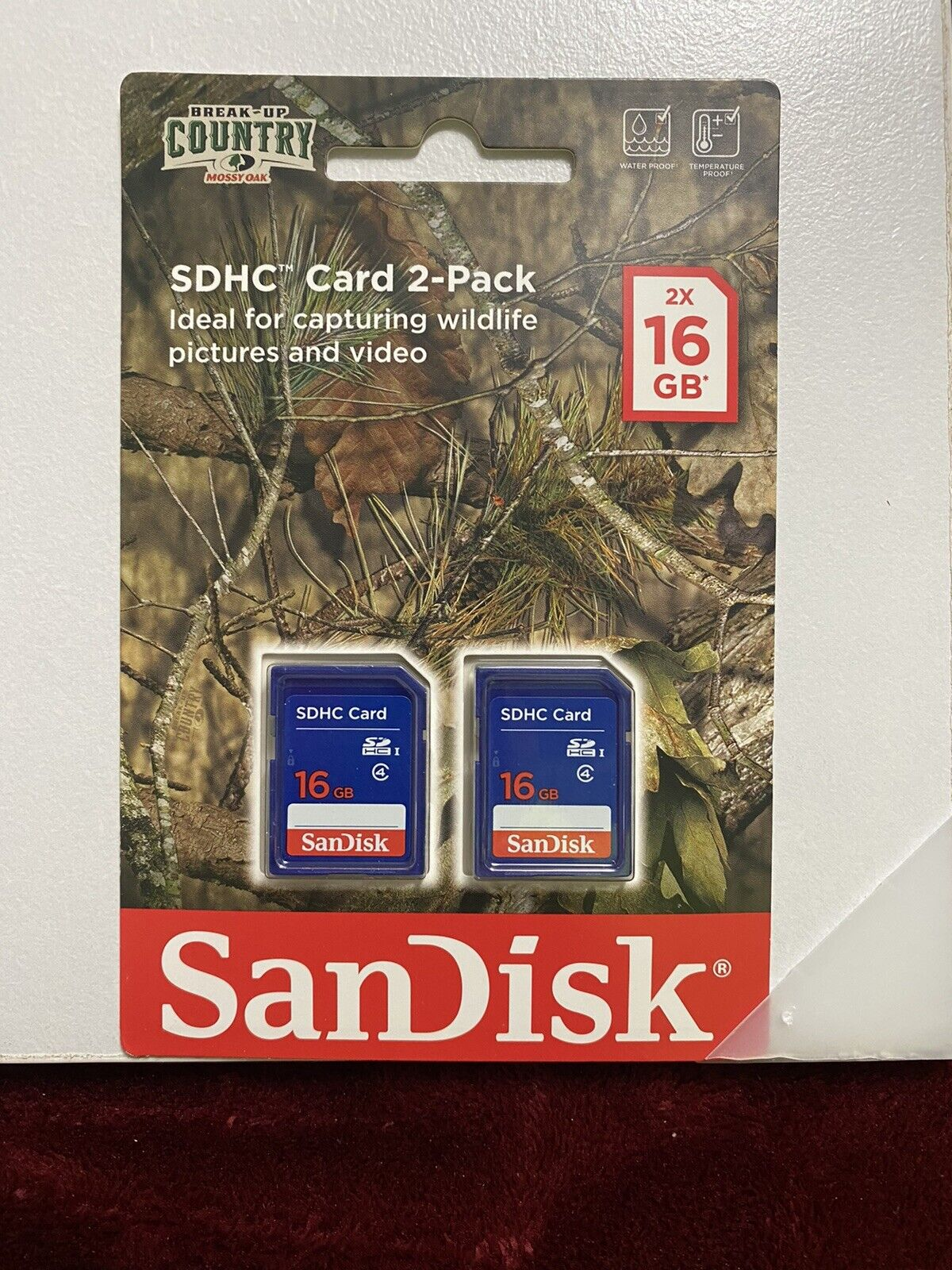 2 Pack Of 16GB SD Cards