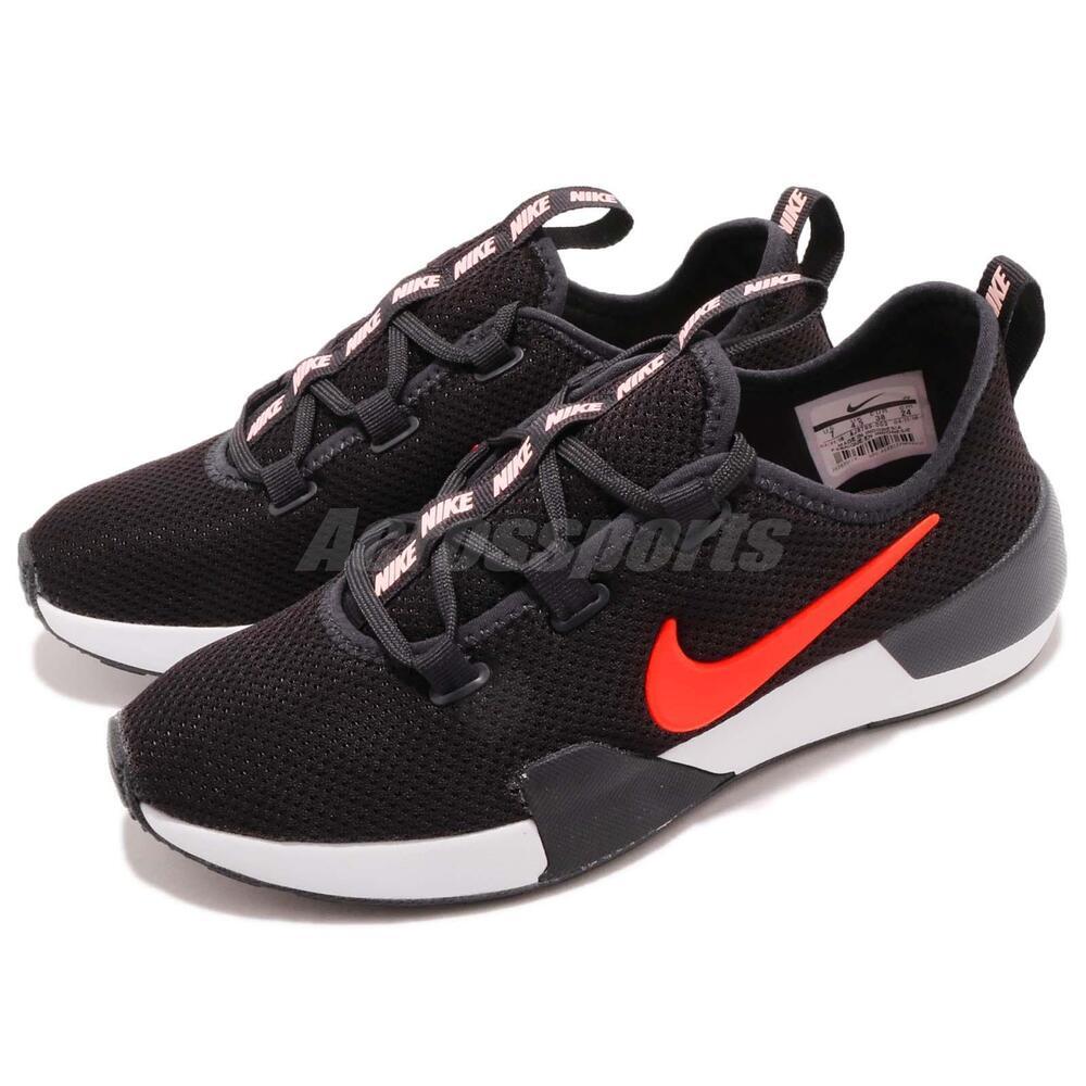 Nike Wmns Ashin Modern Noir Total Crimson Women Casual Chaussures Sneaker AJ8799-003 Chaussures de sport pour hommes et femmes