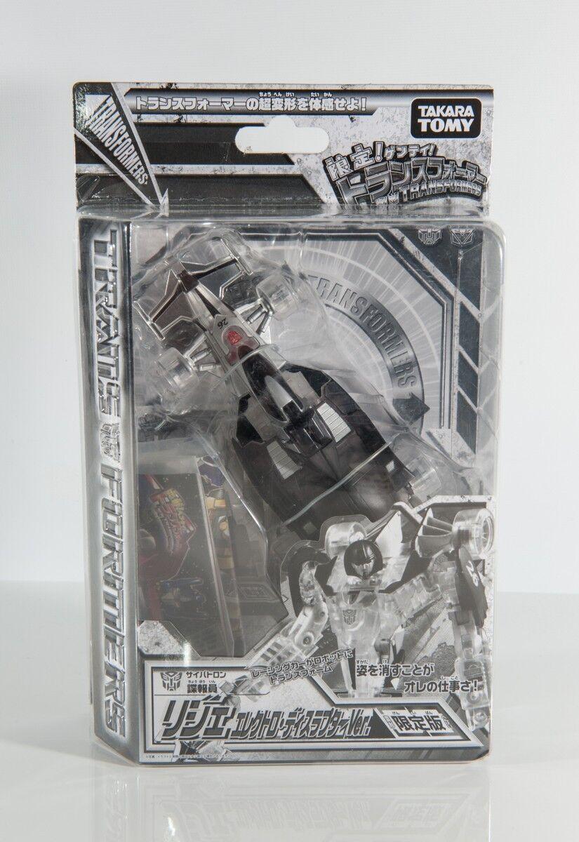 Transformers Mirage Electro Disruptor Henkei Takara Botcon TFCC