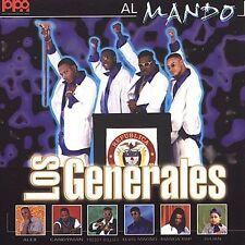 LOS GENERALES - AL MANDO NEW CD