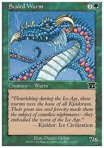 4x-Wurm-Scaled-Scaled-wurm-MTG-MAGIC-6E-Eng-Ita